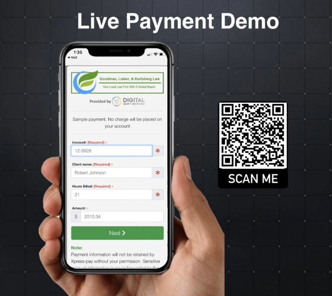contactless payment demo